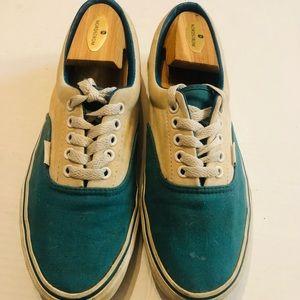 Comfycush Era Vans Men 8.5 Women's 10 Blue & Cream